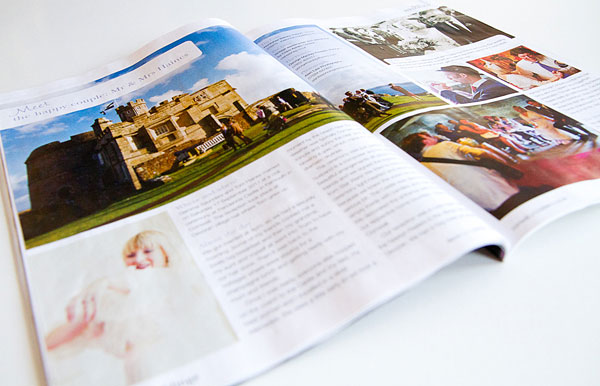 alan law photography in Pure Weddings Magazine (Cornwall Life / Devon Life)