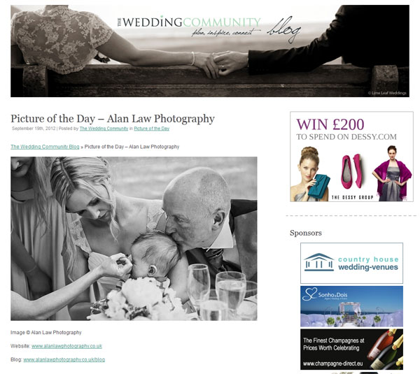 wedding community blog picture of the day