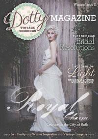 Press Features: Dotty Vintage Weddings Magazine