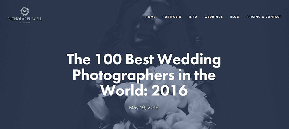 100 best wedding photographers in the world 2016
