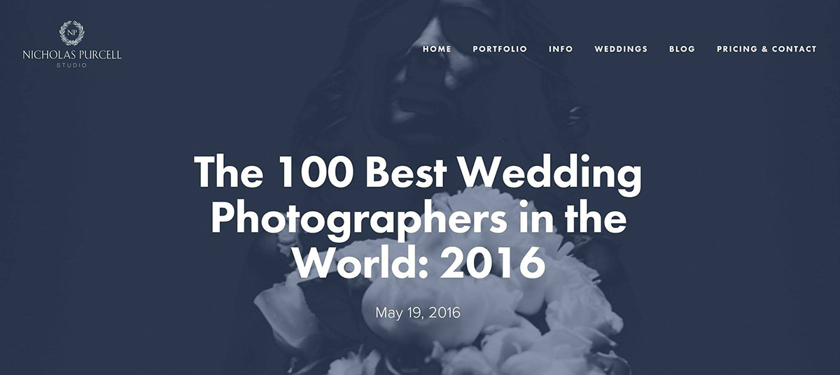 100 best wedding photographers in the world
