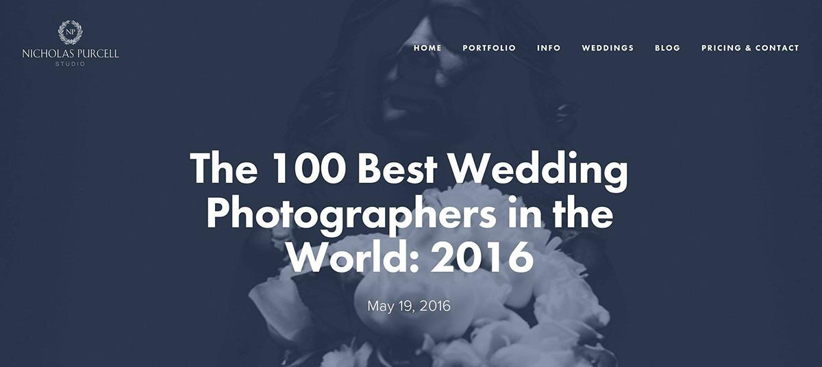 100 best wedding photographers in the world