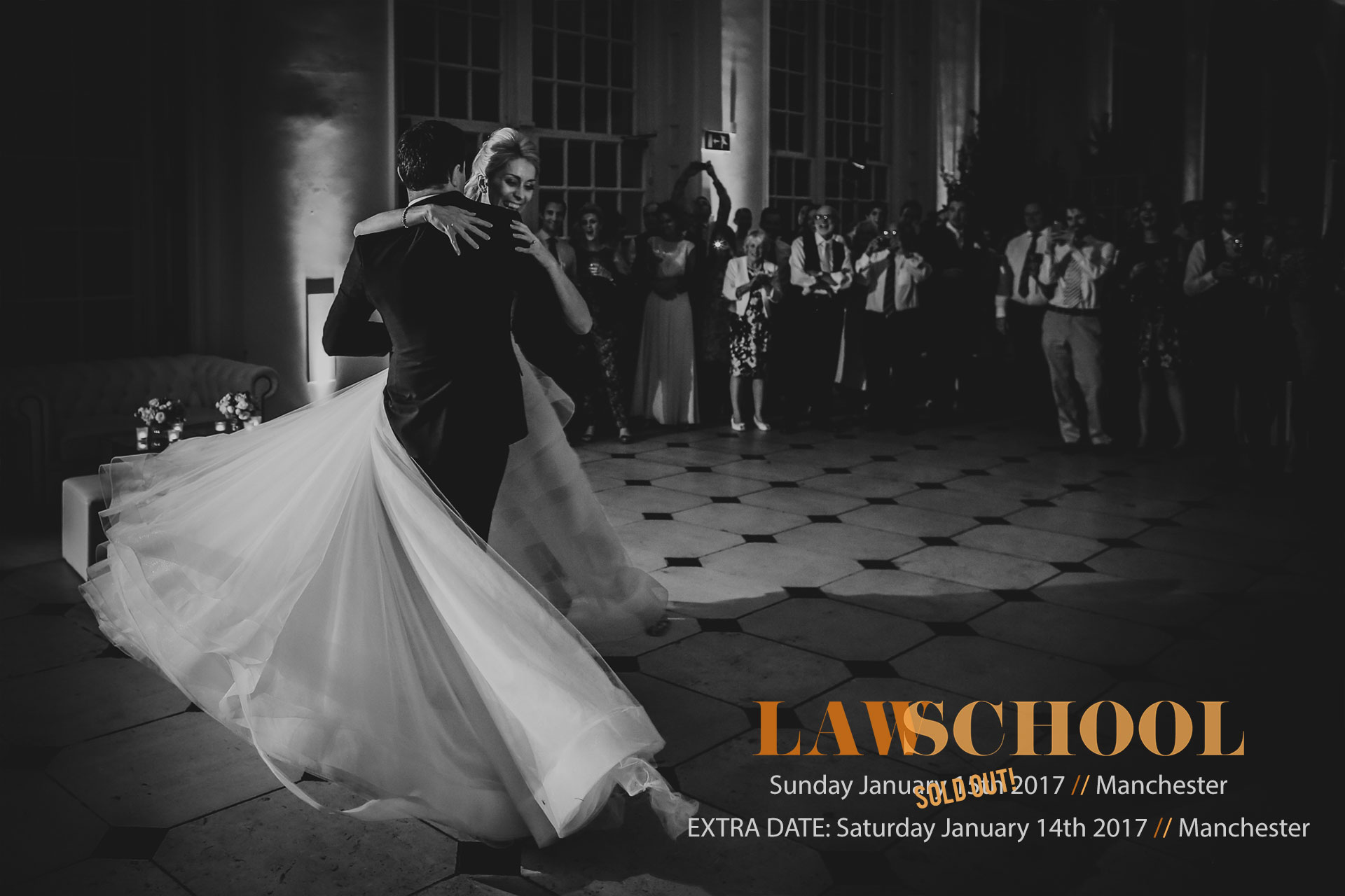Law School / Wedding Photography Workshop / January 14th 2017 / Manchester, UK