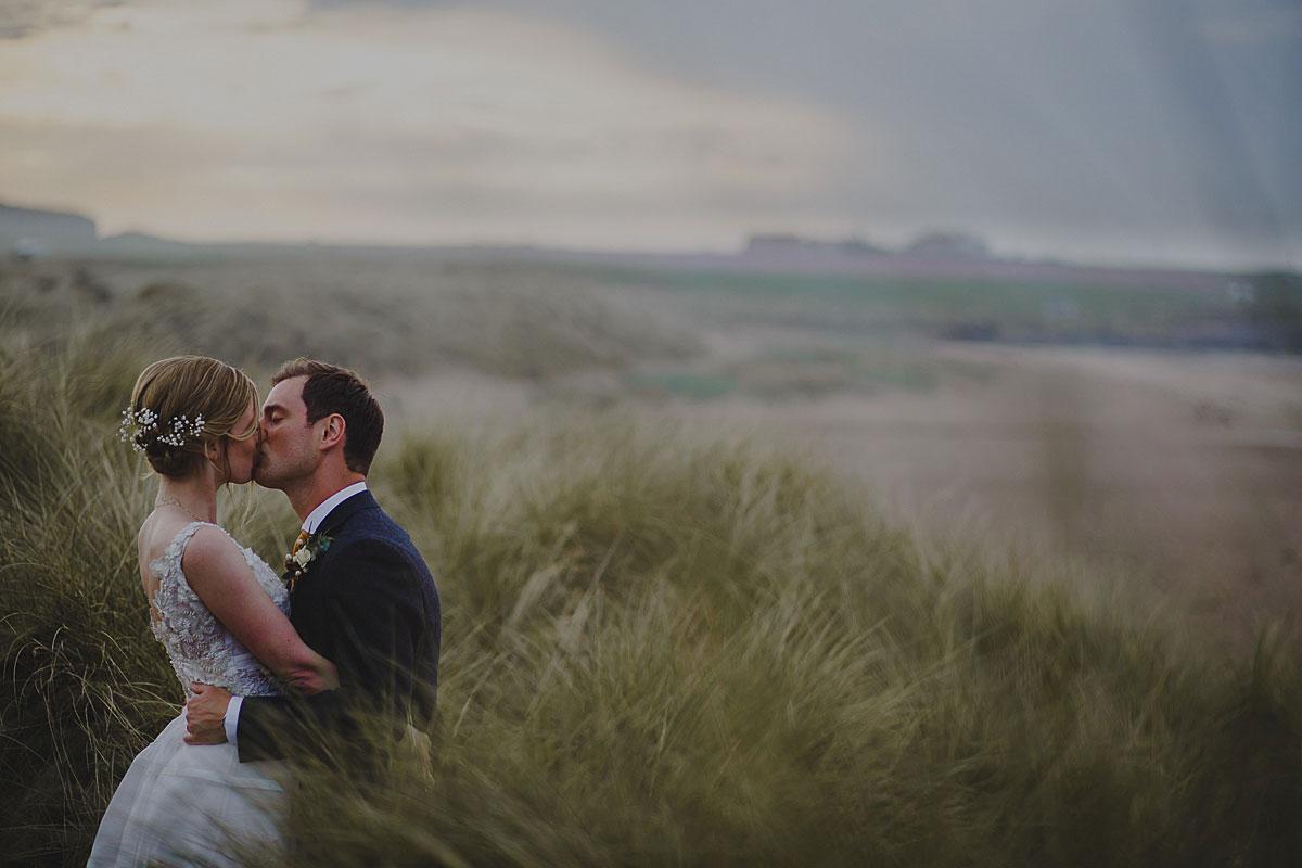 wedding photographer bamburgh castle