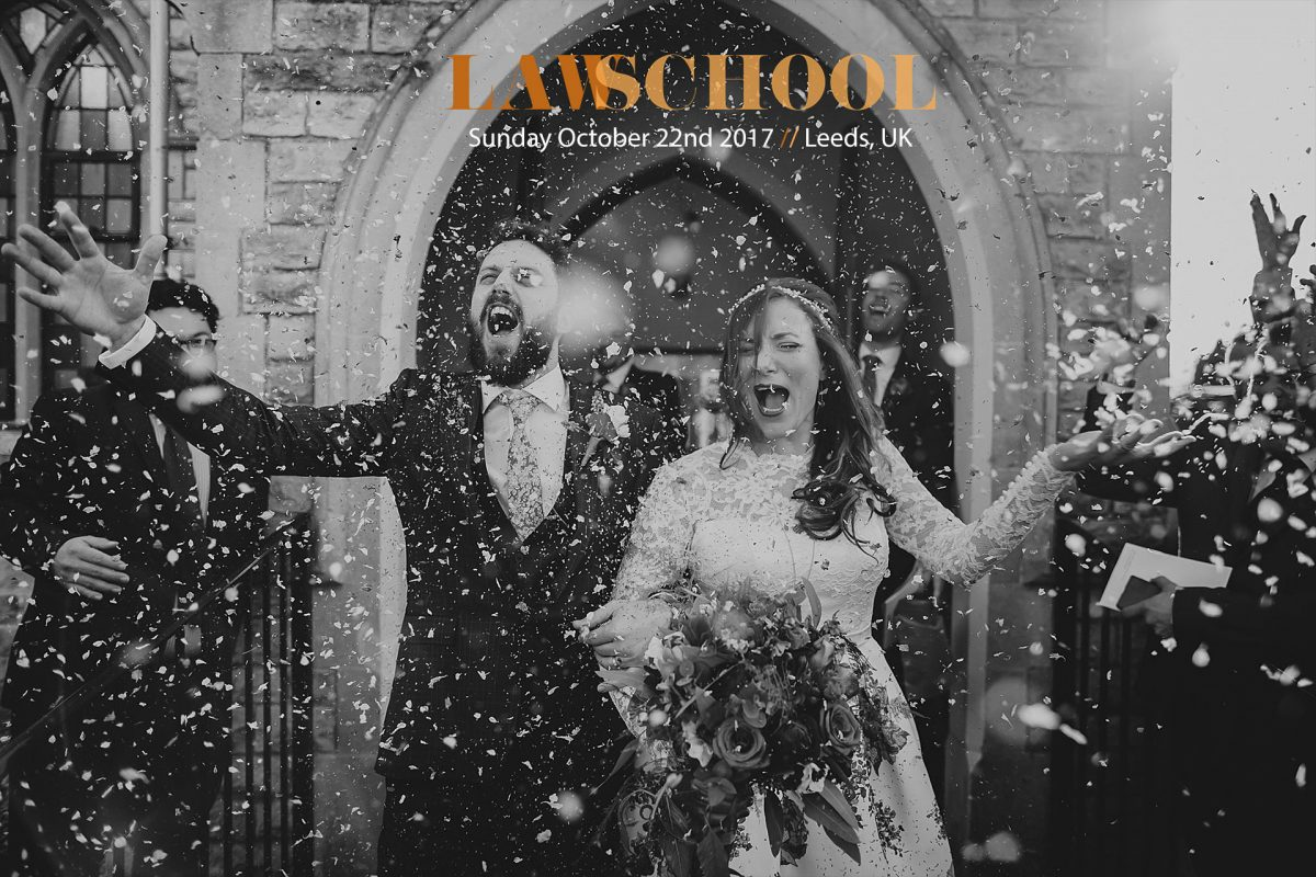 Law School / Wedding Photography Workshop / October 22nd 2017 / Leeds, UK