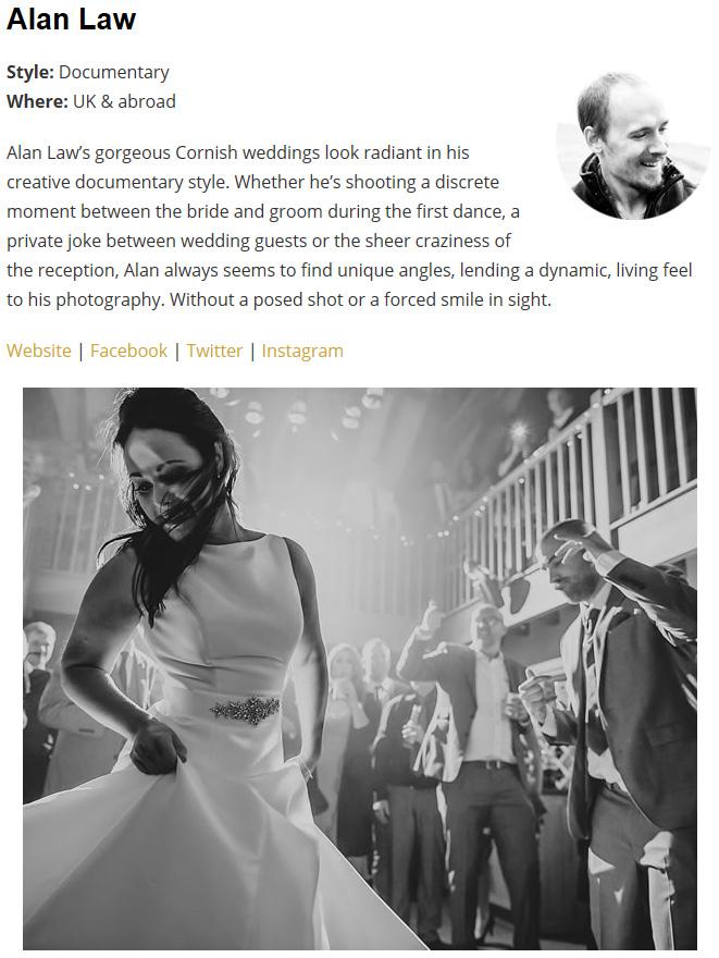 top 50 uk wedding photographer 2018