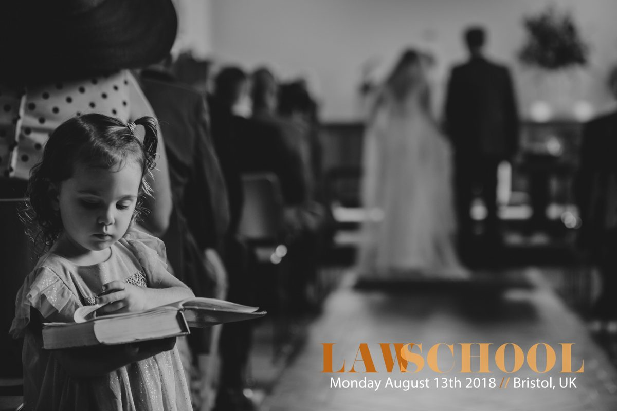 Law School / Wedding Photography Workshop / August 13th 2018 / Bristol, UK