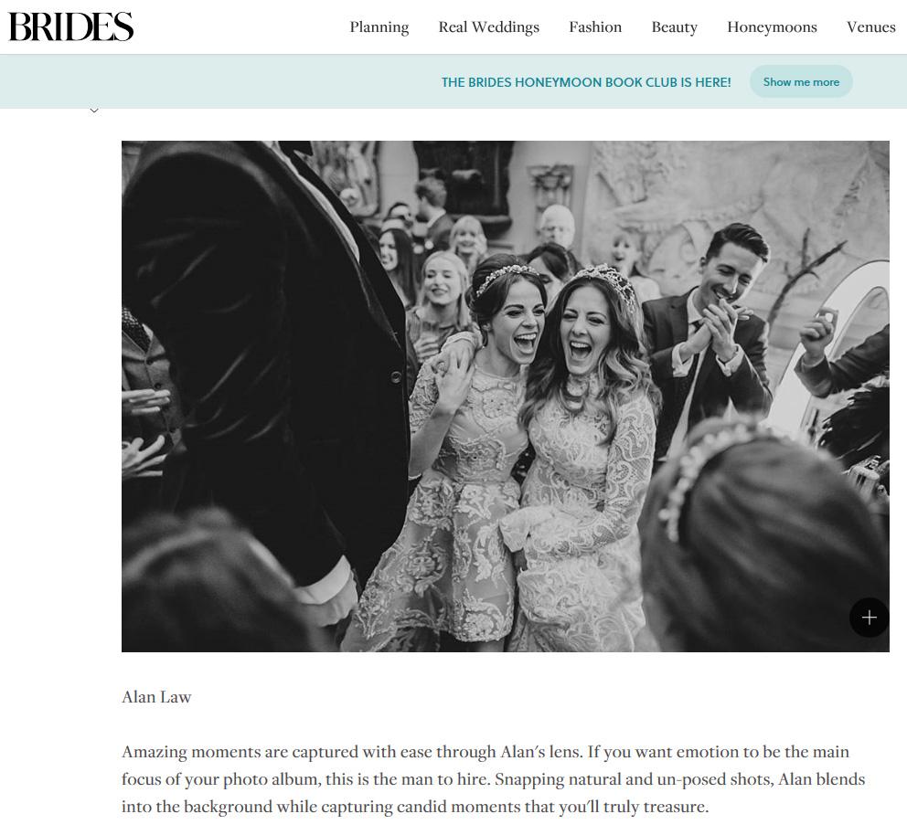 brides magazine top 15 wedding photographers