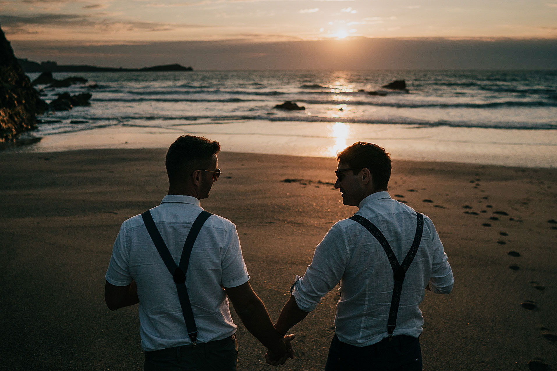 Tom & Al / Lusty Glaze Beach, Cornwall