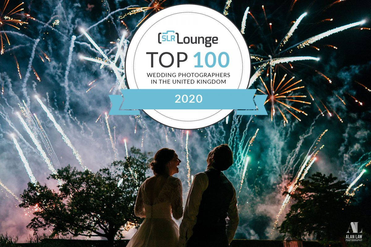 Named one of the 'Top 100 Wedding Photographers in the UK'